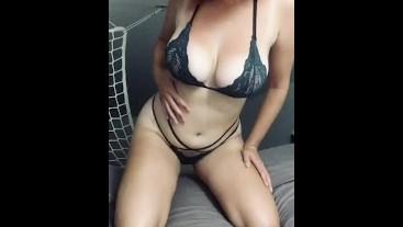 Teasing in lingerie - July XX