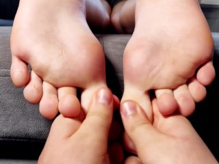 Tickling sport fitness...