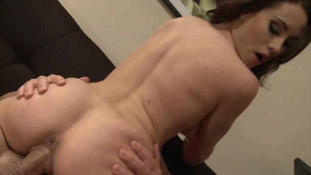 Huge Dick Penetrating Hot Brunette Julliets Little Pussy 11