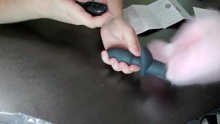 Wireless Tail Butt Plug Sohimi Anal Vibrator Foxtail Plug Diameter 35 mm Wagging Automatically