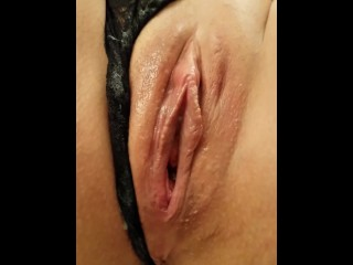 She asked for a Creampie so I pumped her full of cum and watched it drip from her pussy. Amazing POV
