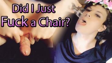 Massage Chair Makes me Cum & I Eat It - Jessica Bloom