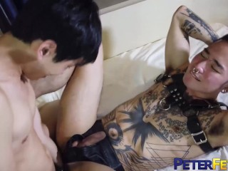 Peterfever petite gay fuji fists and drills...
