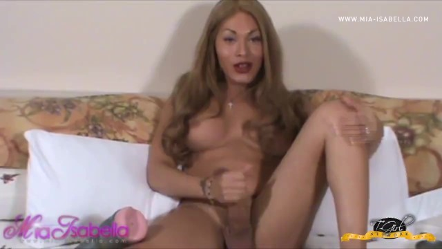 Mia Destroys Fleshlight Ass with Her Massive Cock 11