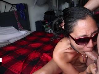 tinder girl fucks first date