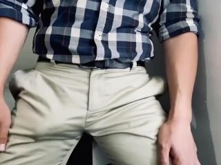 Grabbing and rotation over my pants...