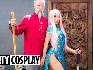 Dirty cosplay kalina ryu big booty asian geisha...