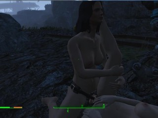 Fallout 4 piper lesbian loves to fuck with...