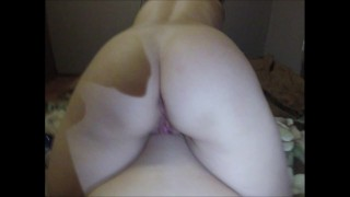 Playing with my ex's pussy while my wife is at work