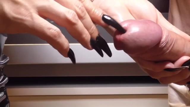 Xx hardcore stories Black long nails - split peehole cum - preview
