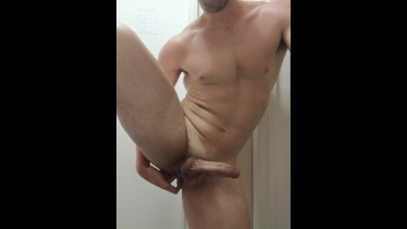 First time fingering my ass makes me cum so much