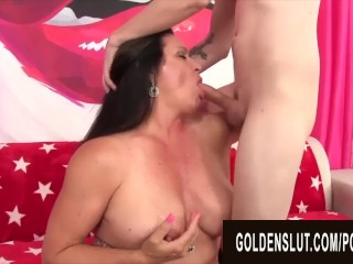 Preview 1 of GoldenSlut - Older Ladies Show off their Cock Sucking Skills Compilation 20