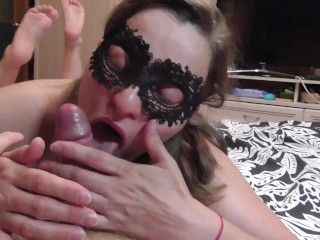 Thought we'll have sex, but she began to suck my dick divinely