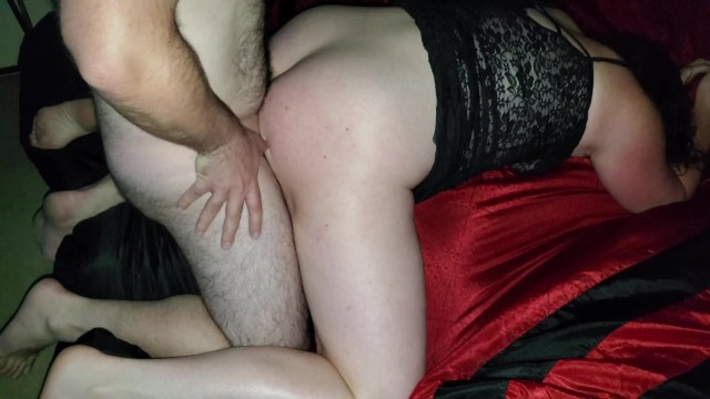 Wife teased friends cock and could not stop, slipped in and had to cum unprotected no condom 11