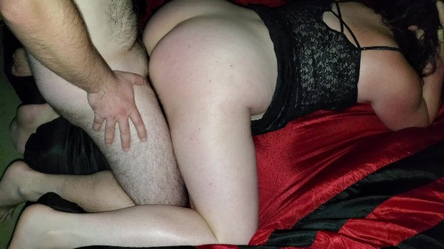 Wife teased friends cock and could not stop, slipped in and had to cum unprotected no condom 40