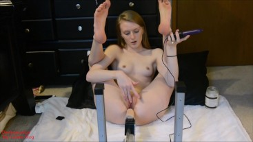 Sex Machine with Leg Positions