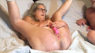Mature Milf Gets A Good Fucking Has The Biggest Longest Squirt In Her Life!