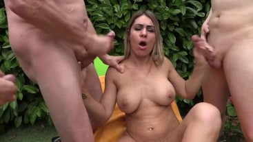 The surprise of Ludivine Summers my darling a gang bang