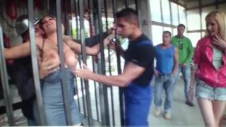 Big Boobs italian pornostar Vittoria Risi fuck strong during gang bang