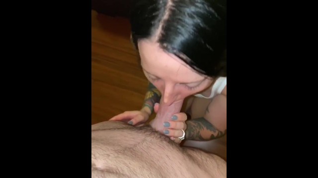 Giving my husband a blowjob 19