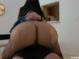 Thick Ass 18 Year Old School Girl Teen Fucks So Well