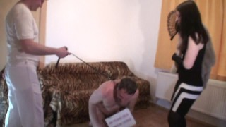 cuckold loser get kicked in front of goddess gloria
