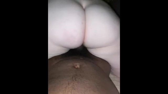 Thick white bitch rides my bbc reverse cowgirl 17