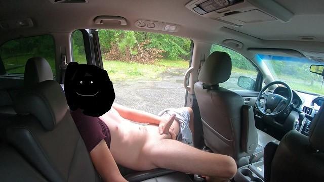 Masturbiert Parkplatz Teen Was macht