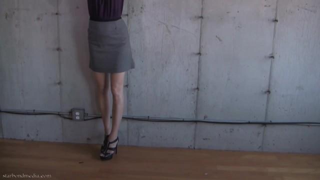 Self Bondage Predicament - Star Nine Handcuff Damsel FULL VIDEO 3