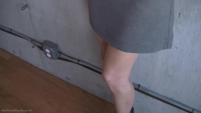 Self Bondage Predicament - Star Nine Handcuff Damsel FULL VIDEO 21