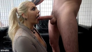 please use your big cock and play in my throat!