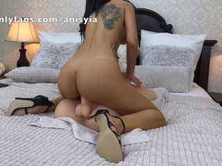 now this! wow – anisyia working that huge dick in 4k