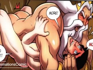 Yaoi gay comic animated cartoon royale meeting...