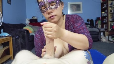 She Teases Me For Over 20 Minutes Before She Lets Me Cum!