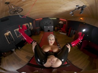 VR BANGERS Hot Bossy Angel Wicky Takes You For An Amazing BDSM Adventure VR Porn