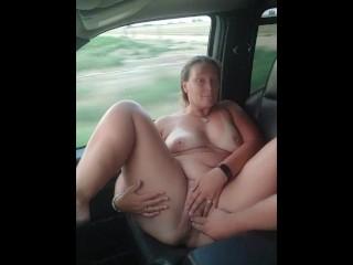 Hot Babe Masturbieren Stuhl