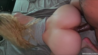 Slim Thick Round Booty Pawg Gets Fucked By Black Dick From Behind (Cumshot on Ass)