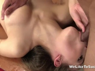 All Holes Filled For Cock Loving Tina