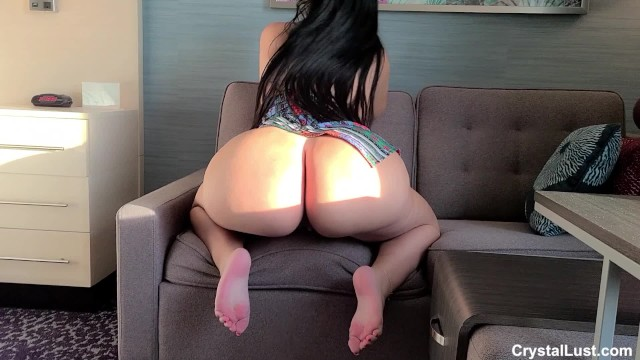 Lesbian hotel room Sexy thick amateur latina gets tricked into fucking her big dick casting agent in a hotel