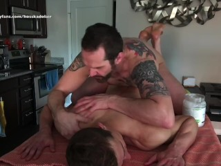 Muscle hunk daddys hairy sexy stud hot nude...