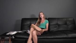 The Pantyhose Saleswoman - Office Domination Femdom POV Star Nine TRAILER