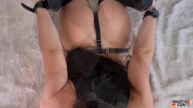 Big Booty Babe Hard Fuck - Sucking and Doggystyle 12
