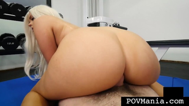 White Haired PAWG River Fox Face & Pussy Fucks By Miles Long