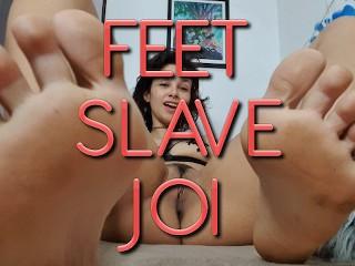 Joi masturbate feet...