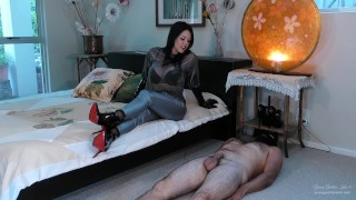 Broken toy - Edged and Ruined by Red Sole Boots Preview - Young Goddess Kim
