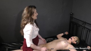 Tied Slave Girl Silenced and Tickled