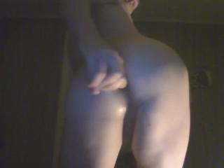 Bottom anal dildo...