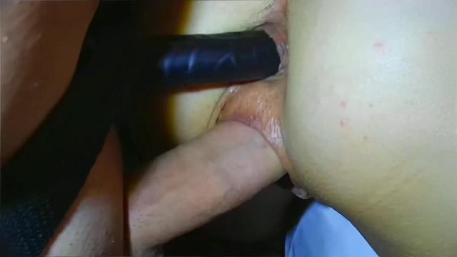 Dildo Doppelte Penetration Schwanz Doppelt gepoppt!
