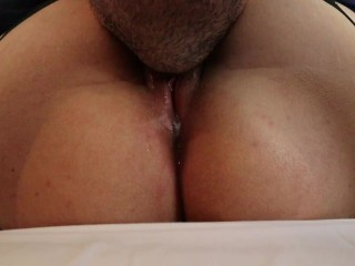 Pussy Clit and Asshole Licking until Orgasm with Contractions