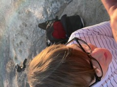Nerd Gets Facial on Hike